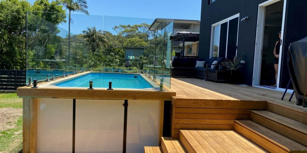 How much do Little Pools above ground fibreglass pools cost